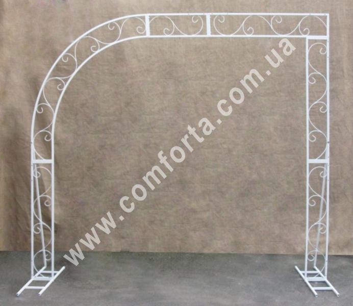 разборной каркас свадебной арки 3 в 1 - полукруглая арка, прямоугольная арка и свадебній фон