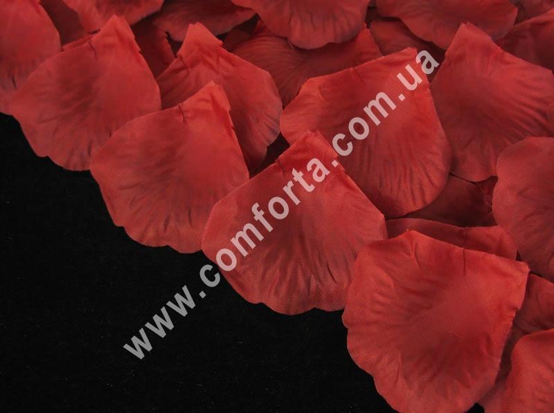 d67ffb847d2263 32470-13 Пелюстки троянд пресовані бордові (~ 130 шт, 14 г), декор весільний