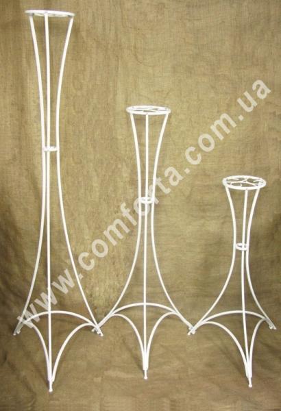27009 Флора Эйфель 170, разборная свадебная стойка, высота ~ 170 см, диаметр (столешня) ~ 20 см