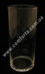 32089 Цилиндр, высота 26 см, диаметр 11 см, ваза стеклянная