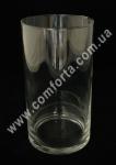 32090 Цилиндр, высота 19 см, диаметр 11 см, ваза стеклянная