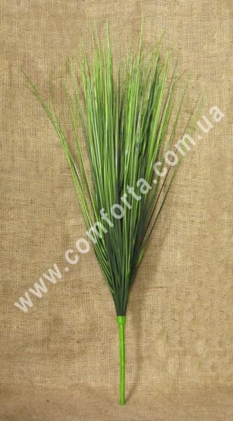 32209 Куст травы, осока зеленая, берграс, высота ~ 70 см, зелень искусственная