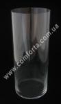 32544 Цилиндр, высота 39 см, диаметр 16 см, ваза стеклянная