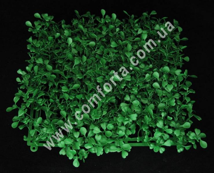 пластиковая основа из искусственного самшита, длина- 25 см, ширина - 25 см