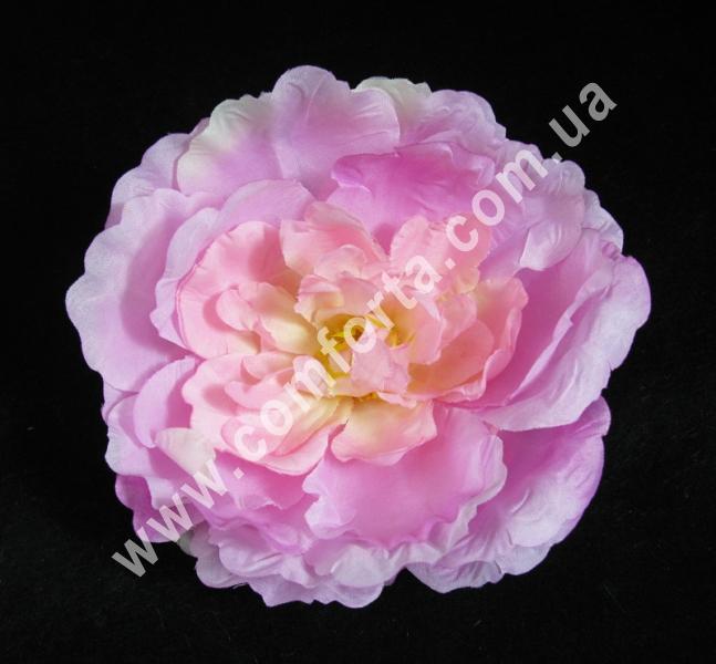 искусственная головка пиона, диаметр - 16 см, цвет - нежно-розовая