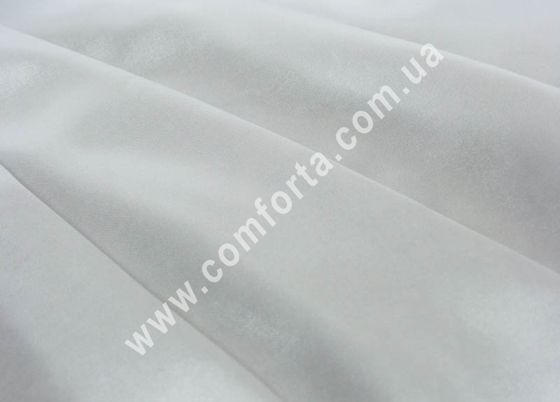 34068 Атлас плотный белый (рулон ~ 50 м), ширина ~ 1,5 м, длина ~ 50 м, ткань декоративная